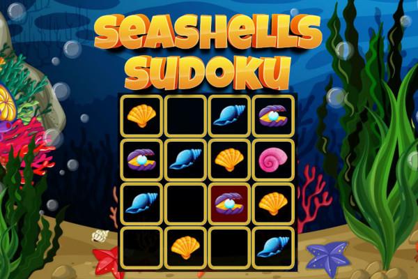 seashells sudoku, sudoku online